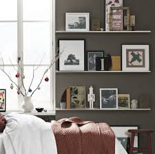Decorating Bookshelves In Family Room by Bedroom Wall Shelving Ideas Design Ideas Us House And Home
