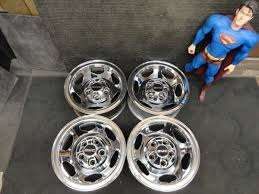 Chrome CHEVY GMC 454 SS Truck Rally Wheels Rims 5 LUG Sierra 5on5 On ...