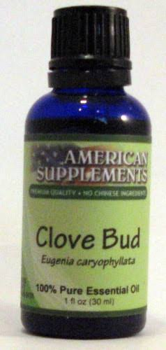 American Supplements Clove Essential Oil - 1 oz - Oil