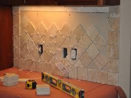 kitchen backsplash travertine tile travertine tile