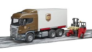 Bruder 3581 Scania R-Series UPS Logistics Truck With Fork Lift ... Pullback Ups Truck Usps Mail Youtube Toy Car Delivery Vintage 1977 Brown Plastic With Trainworx 4804401 2achs Kenworth T800 0106 1160 132 Scale Trucks Lights Walmart Usups Trucks Bruder Cargo Unboxing Semi Daron Worldwide Cstruction Zulily Large Ups Wwwtopsimagescom Delivering Packages Daron Realtoy Rt4345 Tandem Tractor Trailer 1 In Toys Scania R Series Logistics Forklift Jadrem