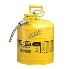 Grounding Of Flammable Cabinet Justrite by Justrite Yellow Diesel Fuel Container Type 2 Capacity 5 Us Gallons