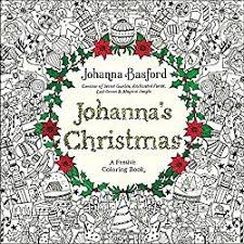 Johannas Christmas Coloring Book For Adults