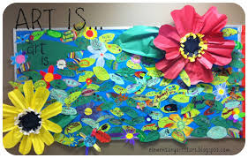 Flowers Bulletin Board 3D