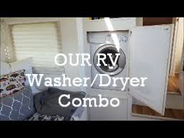 Our RV Washer Dryer Combo How We Installed It And Operate