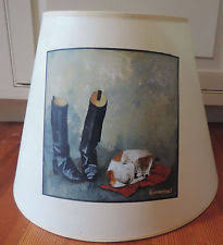 Rawhide Lamp Shades Ebay by Horse Lamp Shade Ebay