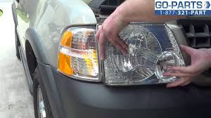 replace 2001 2005 ford explorer headlight bulb how to change