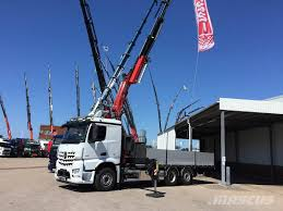 Used Mercedes-Benz Arocs 2551 Crane Trucks Year: 2017 For Sale ...