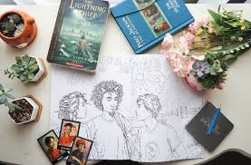 Reasons To Read Percy Jackson Coloring Book Giveaway Twirling