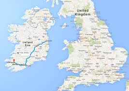 Where Did The Lusitania Sunk Map picking the perfect day trip in ireland kissing the blarney stone