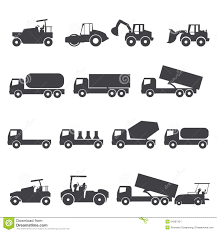 Car Truck Icon Stock Vector. Illustration Of Cement, Transport ...