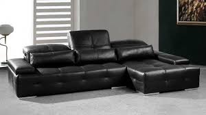 canapé angle en cuir canapé d angle en cuir moderne nobel mobilier moss