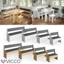 details zu vicco eckbankgrupe küchenbank sitzbank mit truhe für esstisch küche bank