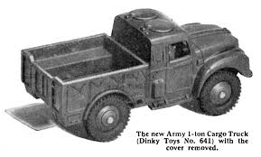 Army 1-Ton Cargo Truck (Dinky Toys 641) - The Brighton Toy And ... Military Truck Trailer Covers Breton Industries The 5 Ton In Lebanon 1 M54 In The Middle East Ton Military Cargo Truck 20 Ft Flat Bed 1990 M927a2 Cargo Am General 2009 Rebuild M925a2 Ton Military 6 X Truck With Winch Midwest Bmy M923a2 6x6 Equipment Heavy Expanded Mobility Tactical Wikipedia Model M35a2 T52 Anaheim 2016 Vehicle Leasing Film Fleet