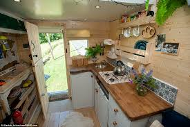 The Couple Spent GBP6500 Transforming Inside Of Van Into A Home Which