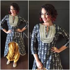 Bollywood Celebs Different Styles Of Wearing A Kurti