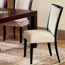 Skirted Parsons Chairs With Arms by Parsons Dining Chair In Simple Design Design Ideas And Decor