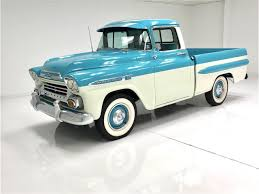 1959 Chevrolet Apache For Sale | ClassicCars.com | CC-1134049 Video This Ls Swapped 59 Apache Is One Badass Restomod 1959 Chevrolet 2014 Truckin Thrdown Competitors Greening Auto Company Jeff Greenings Fileflickr Dvs1mn 31 Pickup 2jpg Retyrd Within Wheels For Chevy Truck Mecum Fl 2016 Apache Pickup Custom 60l Lq9 Hot Rod Network 3100 Pickup Trucks Pinterest Classic Gmc Trucks And What Makes Someone Want To Hold On A For 40