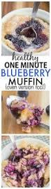 Starbucks Pumpkin Muffin Calories by Healthy 1 Minute Blueberry Muffin Paleo Vegan Gluten Free