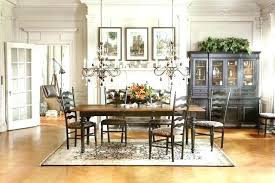 Dining Room Set Buffet Hutch For Table Traditional Cherry With Credenza