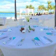 Blue Haven Resort Beach Wedding Reception
