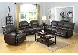 espresso bonded leather reclining sofa loveseat set costco
