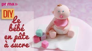 faire un bébé en pâte à sucre diy cake design
