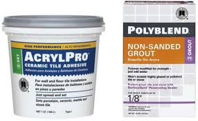 Acrylpro Ceramic Tile Adhesive Drying Time by Diy Kitchen Tile Backsplash Install Easy Do It Yourself