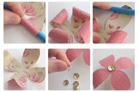 DIY Paper Craft Projects Home Decor Wall Flowers