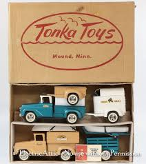 Rare Tonka Toys Boxed 1959 B-206 Trailer Sales Set Insert Look Book ... Vintage Ertl Intertional Sears Toy Truck Youtube 116 Bruder Fliegl Triaxle Low Loader Trailer And Dolly Fx Capra Trailers New Used Sales Adams Center Ny 132 Scale Walmart Trucks Gets Pulled Over Along With Usps An The Toy Farm Semi And For Sale Amazoncom Peterbilt Truck Flatbed 2 Tractors Trailers Shipping Containers Buses 187 Ho Scale Junk Mail Rocket Control Vintage Set Hess Classic Toys Hagerty Articles Model Trucks Diecast Tufftrucks Australia