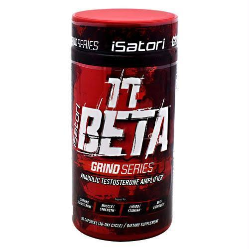 iSatori 17-Beta Grind Series Testosterone Amplifier 90 Capsules Supplement - 90ct
