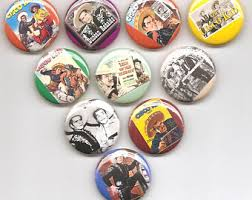The Cisco Kid Set Of 10 Pins Button Badge Pinback
