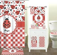 shower curtains pink gingham shower curtain bathroom images