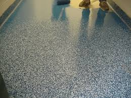 Sherwin Williams Epoxy Floor Coating Colors by A Concrete Floor Covered With Epoxy Floor Paint Home Design By John