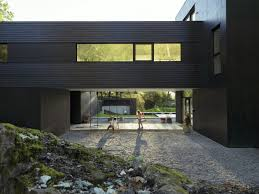 100 Todd Saunders Architect Villa S Dark Modern Home By Ure Wowow Home