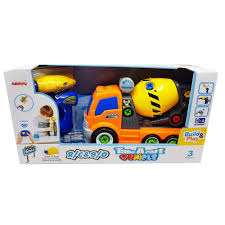 100 Toy Cement Truck Buy Take Apart RC With Electric Drill Online