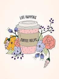 As The Quote Says Description Life Happens Coffee Helps Free Printable Wall Art