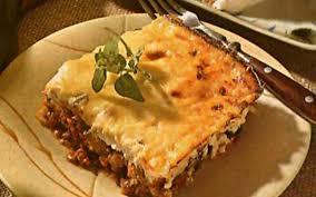 cuisine grecque moussaka recette moussaka pas chère cuisine étudiant