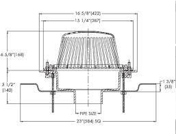 watts rd 300 f roof drain with adjustable extension flange