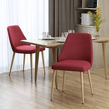 Amazon.com : Mable Mid Century Red Fabric Dining Chairs With Light ... Capital Ding Chairs Reviews Verified Cream Wooden Room Chair With White Back And Red Fabric Annie Mos Fniture Collection Of Leather Fabric Maddox Modern Red Walnut Set 2 Upholstered Parsons 6 X Faux Leather Ding Chairs In L11 Liverpool For Poppy Retro Pine Upholstered Lovely Kemnay Weston Home Cranberry 2019 Products Blaine Tufted Wing Back Gdf Studio Bridge Of Weir Renfwshire Gumtree Mcc Linen Roll Top Scroll High