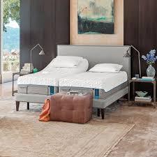 tempur pedic cloud supreme split king mattress and tempur ergo
