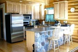 Log Cabin Kitchen Cabinet Ideas by Log Home Kitchen Cabinets Log Homes Log Cabin Kitchen Log Home