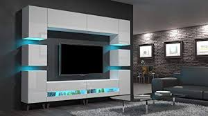led blau home direct future 38 weiß modernes wohnzimmer