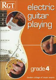 preli guitare a le rgt electric guitar grades preliminary 1 2 3 4 5 6