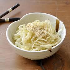 comment cuisiner du chou recette salade de chou blanc comme au resto japonais en pas à pas