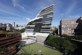 Jangho Curtain Wall Hong Kong Limited by Jockey Club Innovation Tower By Zaha Hadid