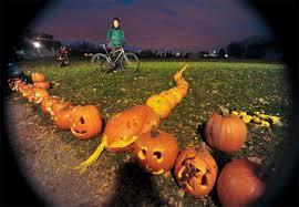 Largest Pumpkin Ever Carved by Sorauren Park Pumpkin Parade The Biggest Yet