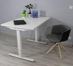 bureau assis debout bureau ergonomique réglable en hauteur électriquement