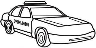 Get This Printable Police Car Coloring Pages Online 17696