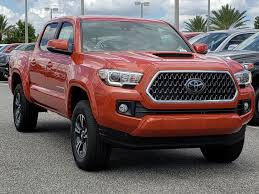 New 2018 Toyota Tacoma TRD Sport Double Cab In Orlando #8750081 ... 2018 Toyota Tundra Trd Sport Exterior And Interior Walkaround Preowned Toyota Truck Highlander Le Utility In Hollywood 2017 Tacoma Crew Cab Pickup Hiram Sport Double 5 Bed V6 4x4 At Truck Youtube Review 2015 Is Your Weekend Getaway Bestride New I Tuned Suspension Nav 4 1980 4wd 49k Original Miles Paint 2016 Offroad Vs Mishawaka Jm173303